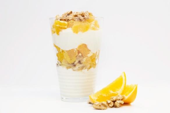 Gresk Yoghurt med honning og appelsin